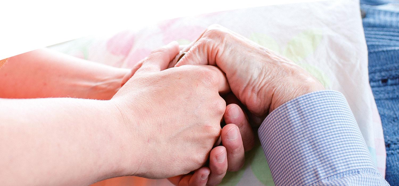 Hände Pflege