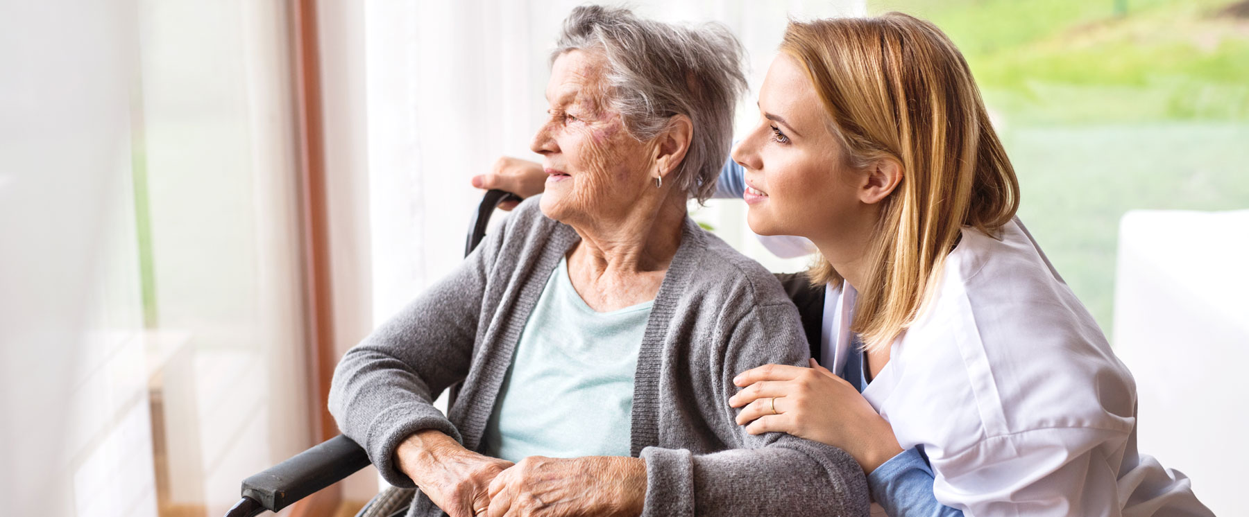 pflegedienst seniorin